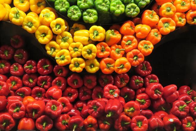 color psicológico de los alimentos